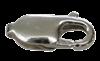 Bild von Karabiner  Edelstahl ital. Form 10mm - 18mm  1 VPE =  3 St.