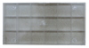 Bild von Fourniturenmagazin groß 2,4 x 19,5 x 9,7 cm 18 Fächer