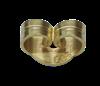 Bild von Ohrmuttern, Standard Edelstahl PVD Gold 1 VPE = 10 St.