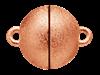 Bild von Edelstahl Schlößchen Kugel 8mm/10mm/12mm matt PVD rosé