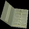 Bild von Metallbandmappe für 12 Metallbänder bis 21mm 32x21x2cm