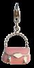 Bild von Charm Handtasche pink epoxy