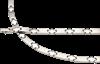 Bild von Edelstahl Collier 45cm / Armband 19cm 6mm oder 4mm