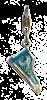 Bild von Charm Chucks blau epoxy