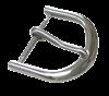 Bild von Lederbandverschluß Edelstahl 8-20mm breit, Standard-Dornschließe, 1 VPE = 6 St.
