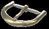 Bild von Lederbandverschluß Edelstahl 8-18mm breit, Standard-Dornschließe, Beschichtung: PVD gelb, 1 VPE = 6 St.
