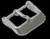 Bild von Lederbandverschluß Edelstahl 18-24mm breit, Chrono-Dornschließe, 1 VPE = 6 St.