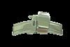 Bild von Faltverschluß für Lederbänder Edelstahl 12-24mm breit, für Lederbänder bis 6mm Stärke