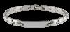 Bild von Edelstahl ID Armband 21cm
