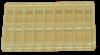 Bild von Sortimentbox 1,5 x 11 x 6,5 cm 18 Fächer