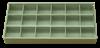 Bild von Sortimentbox 2,5 x 19,5 x 9,5 cm 18 Fächer